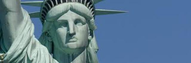 Satatue Of Liberty With Puartarican Flag Tattoo: Statue Of Liberty Timeline