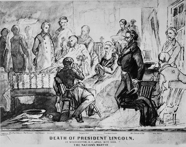 Abe lincoln death date in Perth