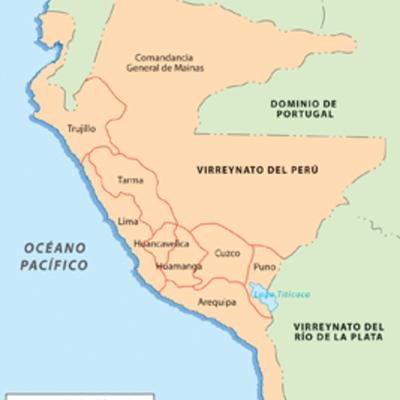 Virreyes que gobernaron el Perú timeline
