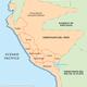 Mapa del peru siglo xviii