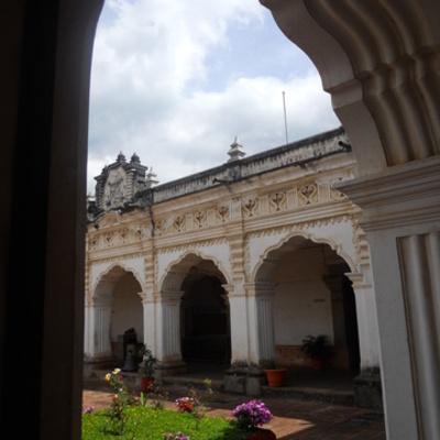Linea del Tiempo Arquitectura colonial Antiuga Guatemala timeline