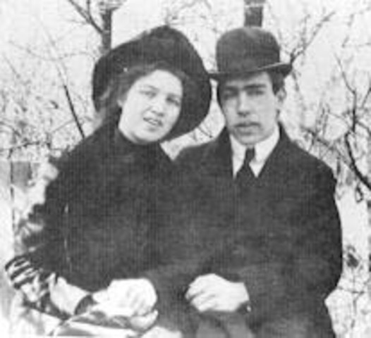Neils Bohr gets Married