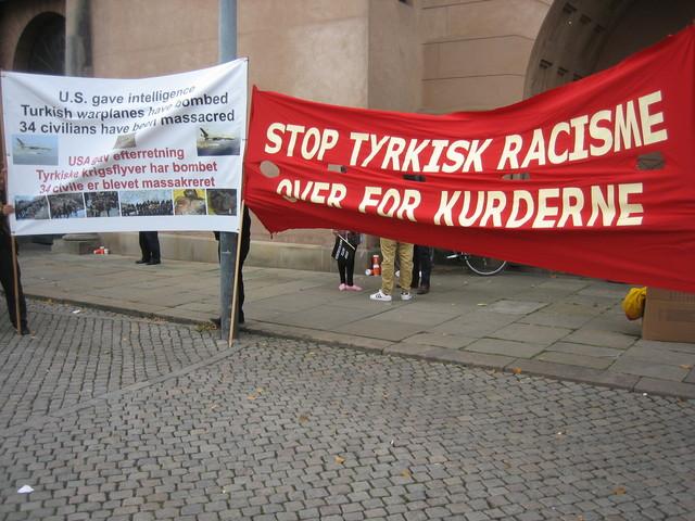 8 Kurdish civilians arrested in DK