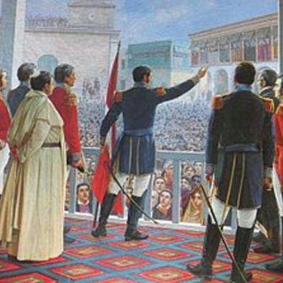 Independenciacdel perú timeline