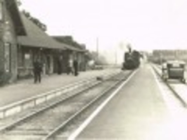 Stationen i Årslev