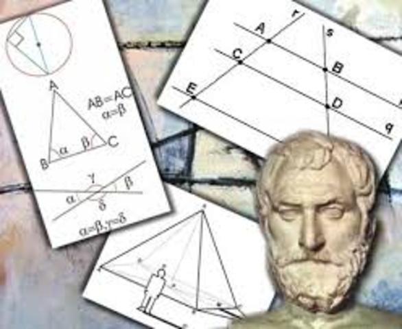 Matemática en la Grecia Antigua (desde el 600 a. C. hasta el 300 d. C.)