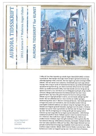 Aurora Tidsskrift for Kunst