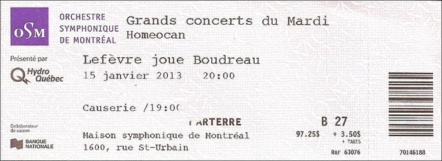 Lefèvre joue Boudreau 15JANV2013