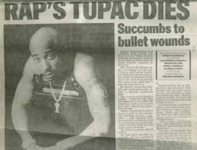 Tupac Shakur Killed in Drive By