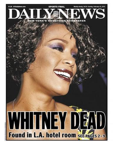 Whitney Houston Found Dead in Hotel Room