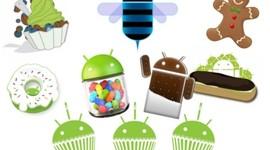 Historia de Versiones Android timeline