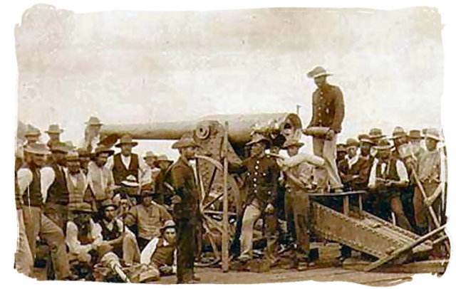 The first Anglo Boer War