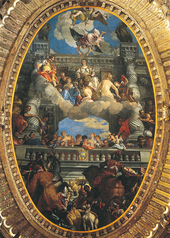 Triumph of Venice by Paolo Veronese