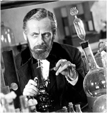 Louis Pasteur, considerado el padre de la microbiología.