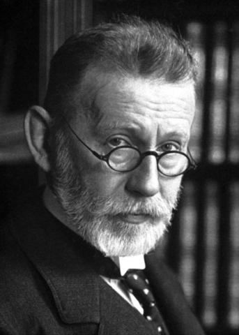 Paul Ehrlich desarrolló el primer antibiótico.