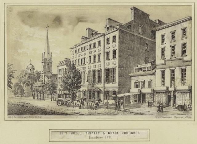 Inaguracion del primer hotel en USA