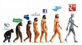 evolucion de la tecnologia en los computadores y la internet timeline