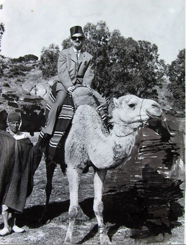 Harald visits Marocco in 1962