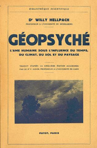 Hellpach publica Geopsyche