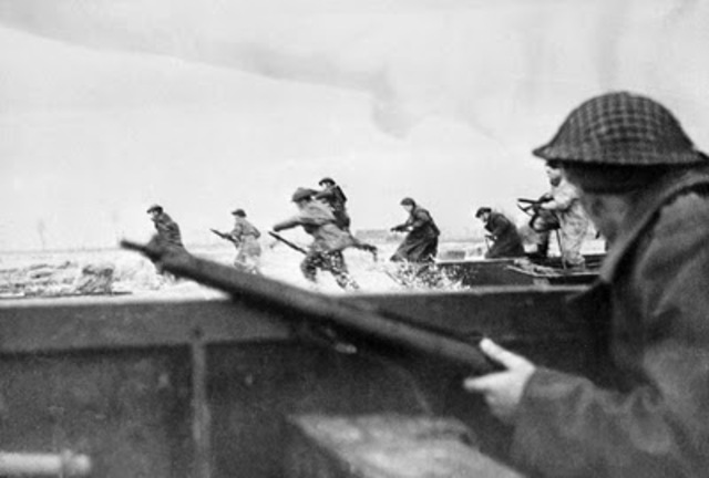 D-Day: Canadian Forces land on Juno Beach