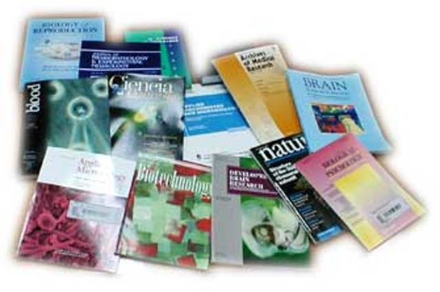 Difusión en revistas científicas