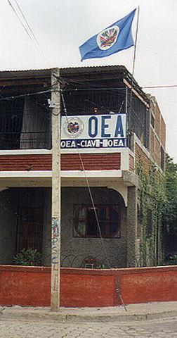 Comisión Internacional de Apoyo y Verificación (CIAV) Nicaragua 1990-1997