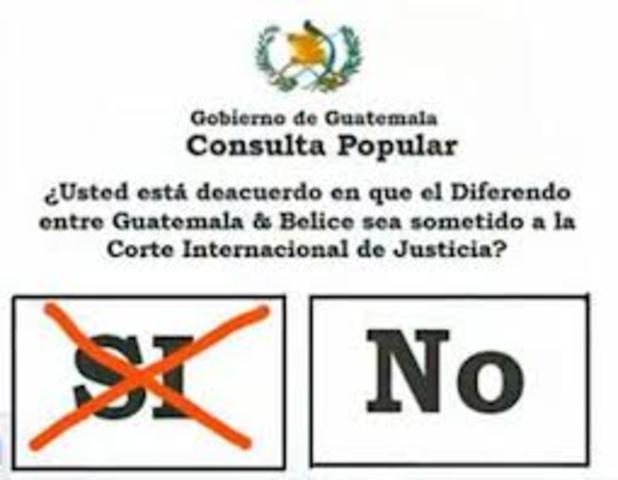Belice y Guatemala ( 2000 -Presente )