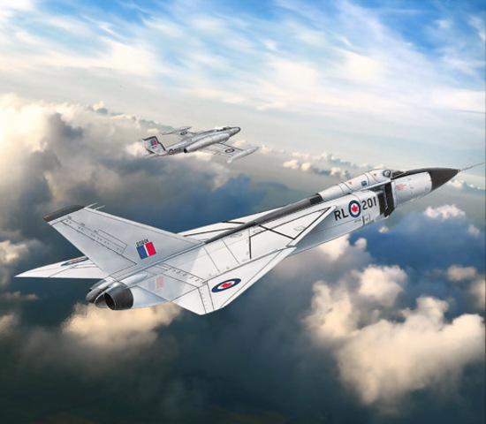 Avro Arrow presented to the media