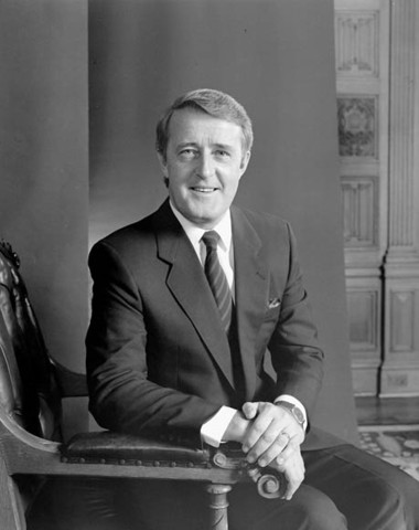 Mulroney takes the PM