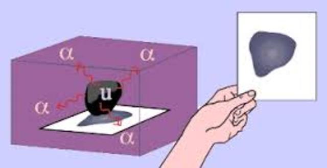 Radioactivity experiment Becquerel