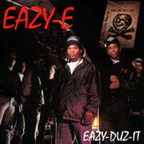 hes album come ot itwas call Eazy-Duz-It
