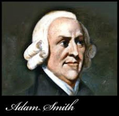 Nacimiento de Adam Smith