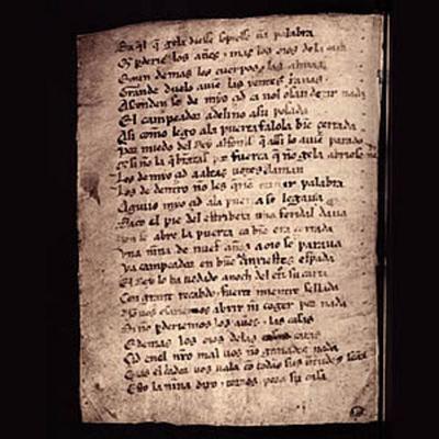 La literatura a l'edat mitjana timeline