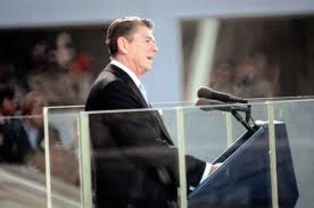First Inauguration of Ronald Reagan
