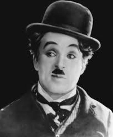 Charlie Chaplin in Film Modern Times