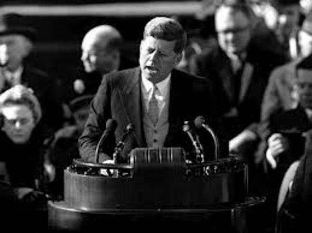 Inauguration of John F Kennedy