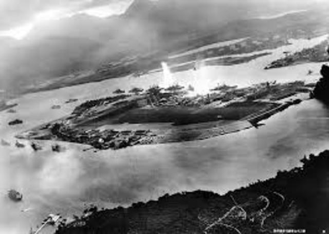 Japan attack on pearl harbor