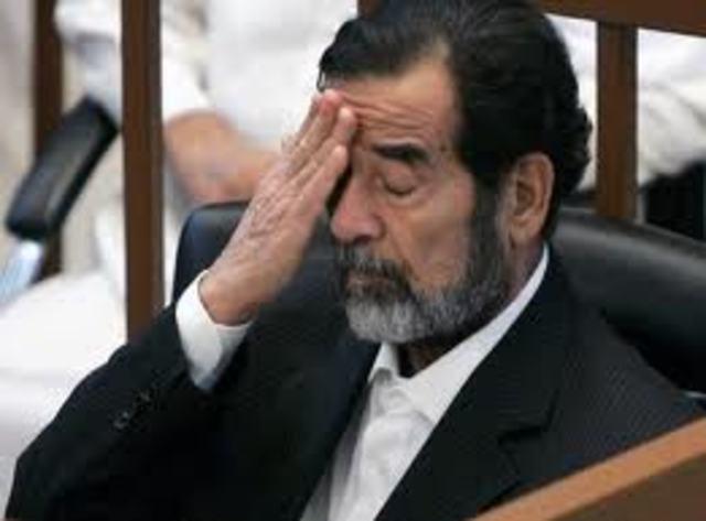 Intento de derrocar a Saddam Hussein
