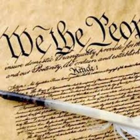 . Ratification of the United States Constitution