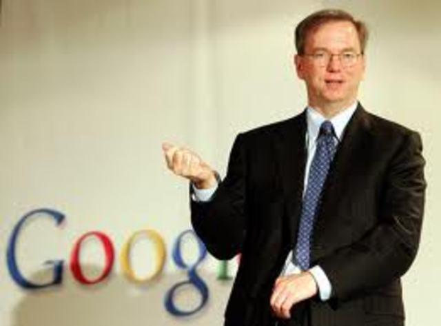 CEO Eric Schmidt