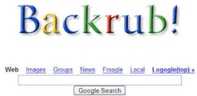 búsqueda de BackRub