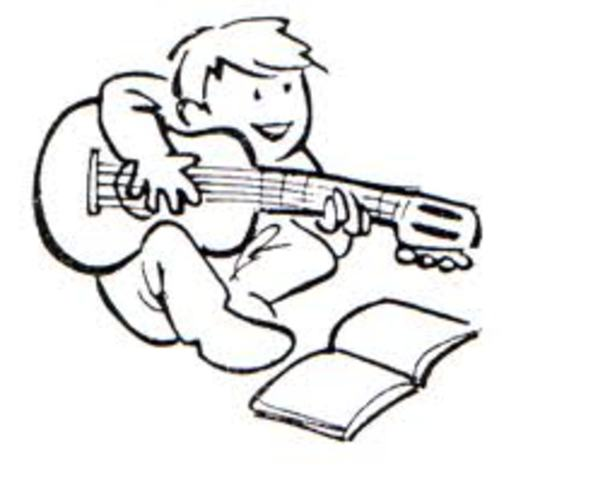 Empezó a hacer música