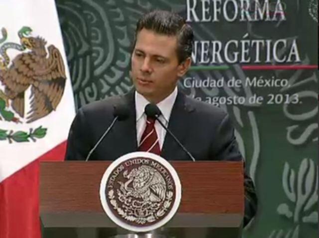 Peña Nieto presenta iniciativa de Reforma Energética