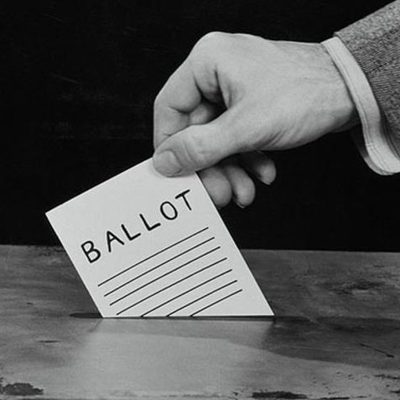 The Right to Vote timeline