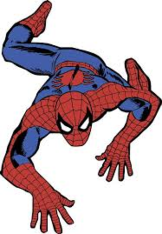 Appearance of Spider-Man in Comics