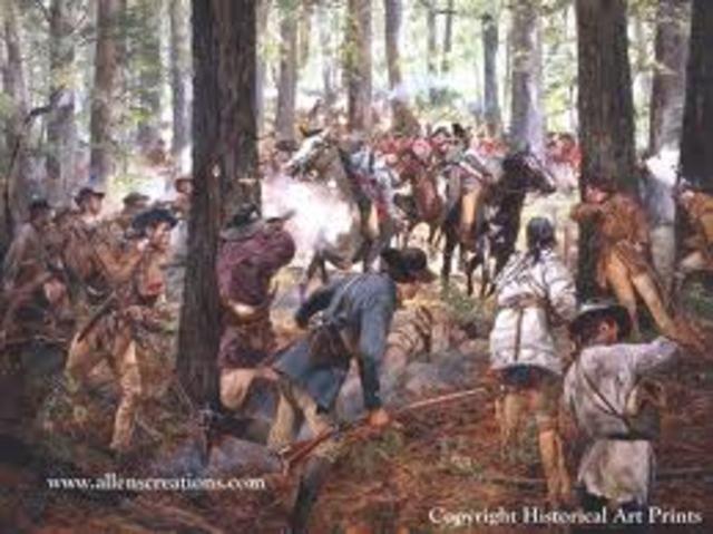 Battle of Kings Mtn.