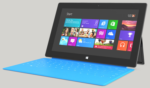Microsoft surface came out