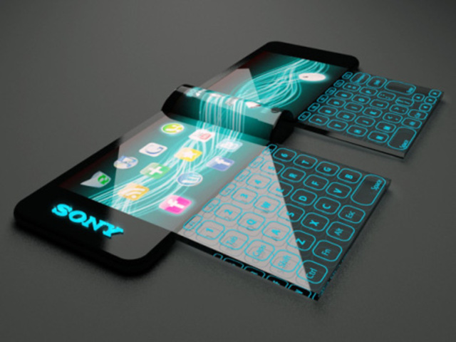 Sony flexible OLED touchscreen computer designed by Hiromi Kinki