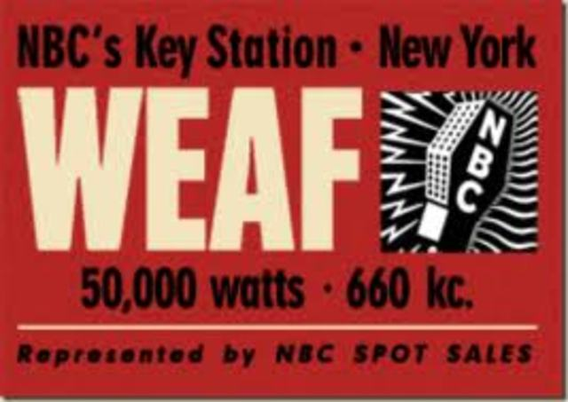 First Radio Advertisement