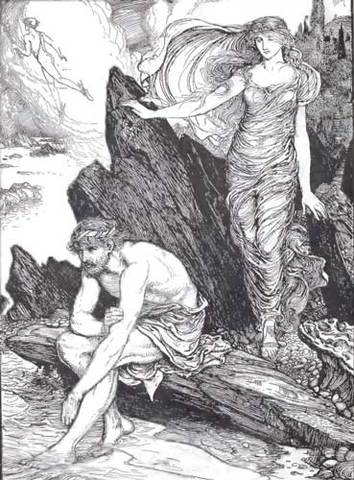 Image result for how did odysseus escape calypso